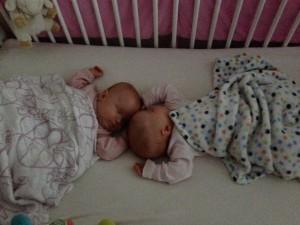 Snuggle in the crib