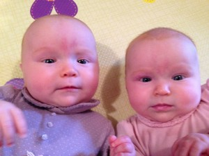 My twins girls are 4 Months old