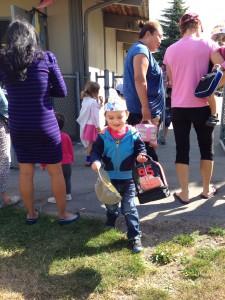 Mateo after preschool