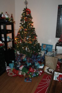 Santa came in our house! Hooray!!